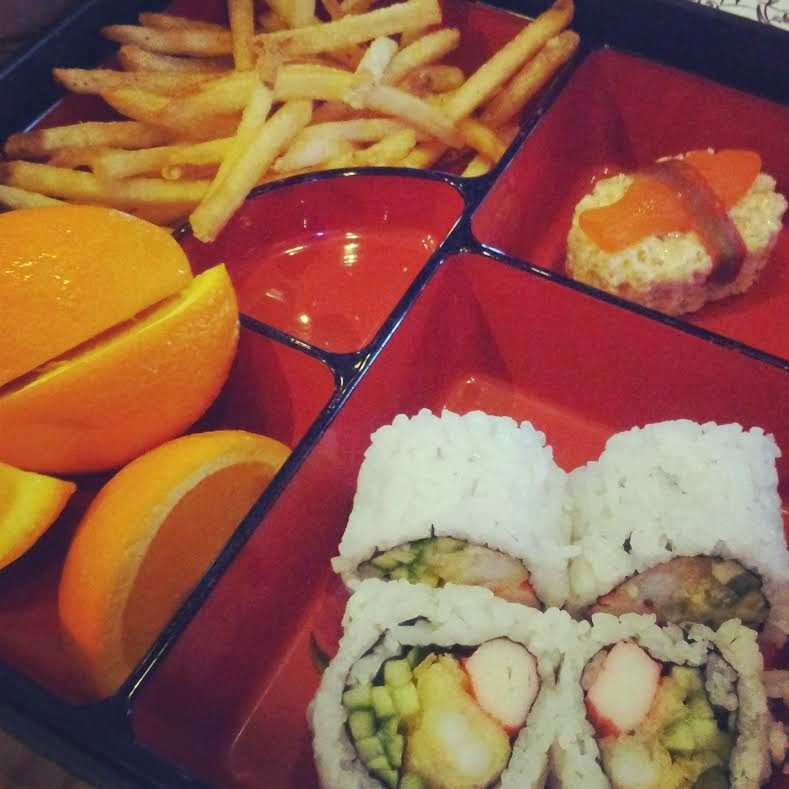 Kid's Bento Box at Cowfish