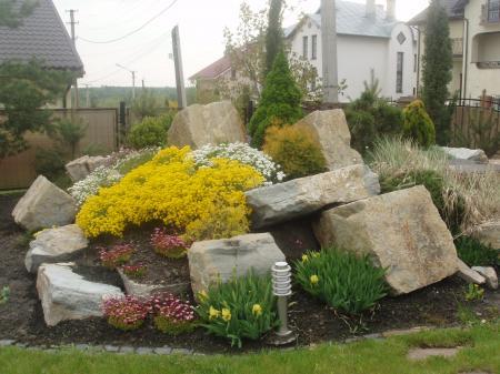 Piedras en el jard n y terraza ideas para decorar for Decorar un jardin pequeno con piedras