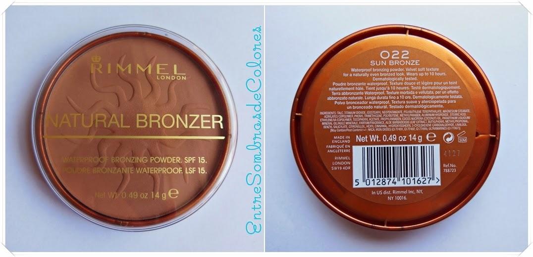 bronceador natural bronzer Rimmel London