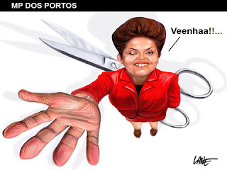  Charge do dia: MP dos portos - Por Lane