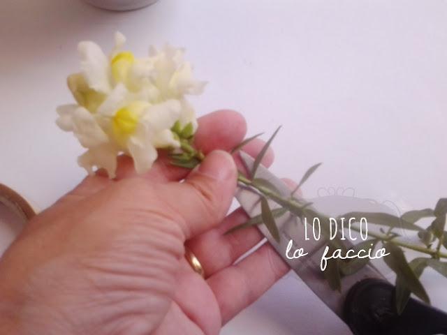 come mettere fiori nel vaso