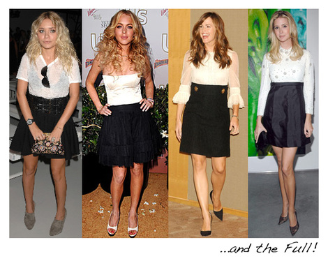 StyleSeeker: High Waisted Skirt