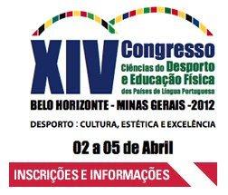 XIV Congresso Ciências do Desporto e Educação Física dos Países de Língua Portuguesa