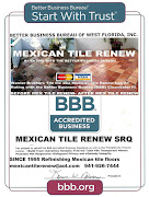 MEXICAN TILE RENEW A+ RATING WITH BBB