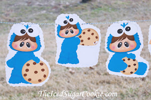 Baby Cookie Monster Birthday Party