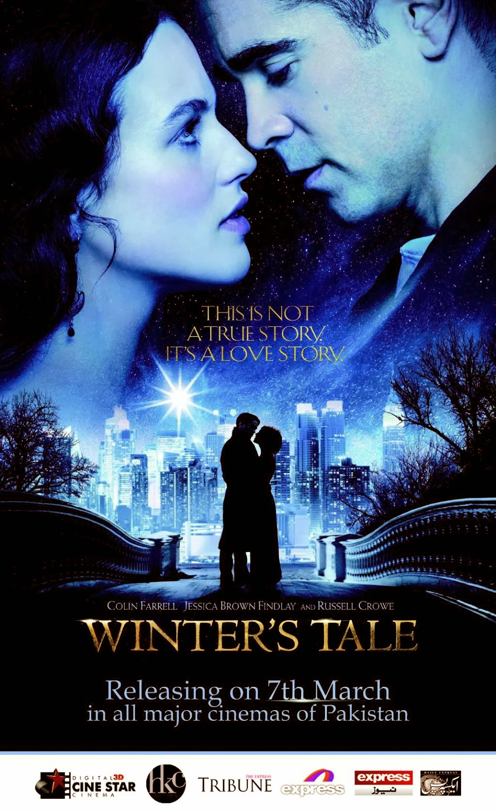 Winters Tale Cine Star 3D Cinema Digital HKC, Tribune, Express, Express News