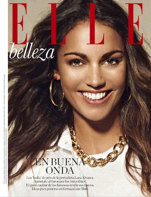 TV Presenter, Journalist @ Lara Alvarez by Mario Sierra for Elle Spain, June 2015