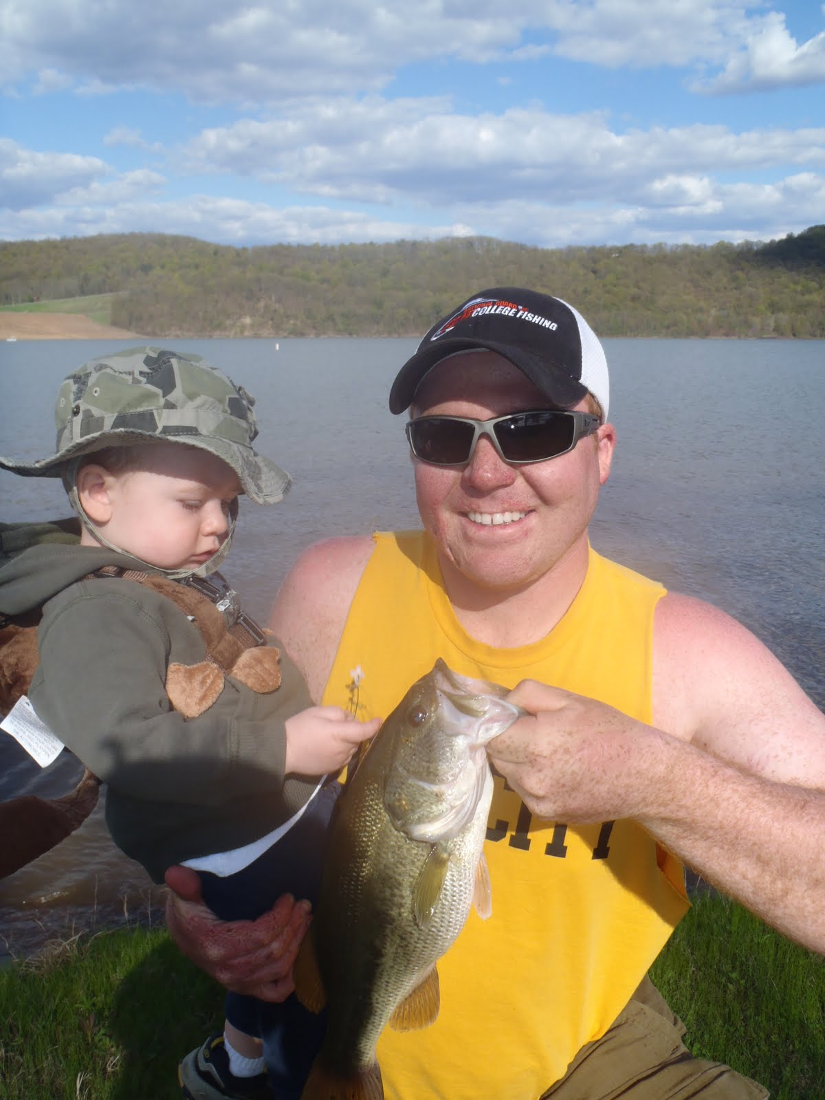 Central pennsylvania bass fishing june 2011 for Fishing lakes in pa