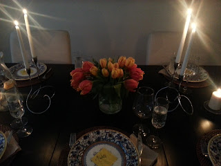 Easter Dinner 2013 on *sparklingly { http://sparklingly.blogspot.com }