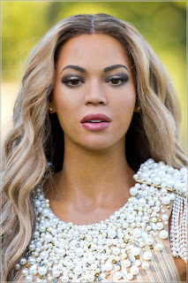 Check out a new wax of Beyonce as unveiled by Madame Tussauds