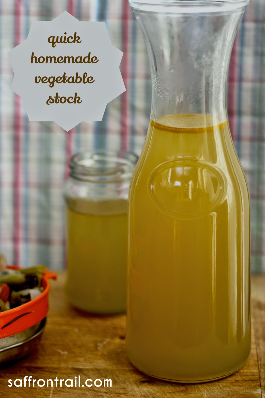 How To Make Vegetable Stock in Under 30 Mins - Vegetarian Stock Recipe