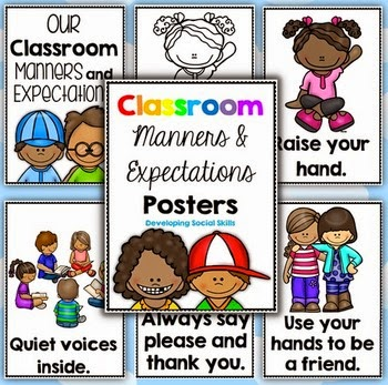 https://www.teacherspayteachers.com/Product/Classroom-Manners-and-Expectations-Posters-Social-Skills-152715