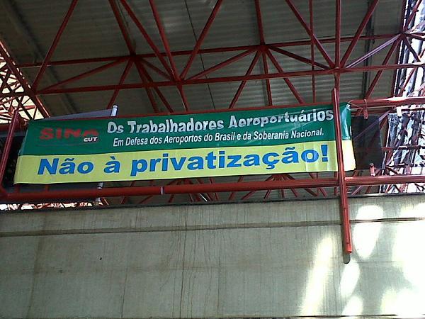 Privatização Infraero