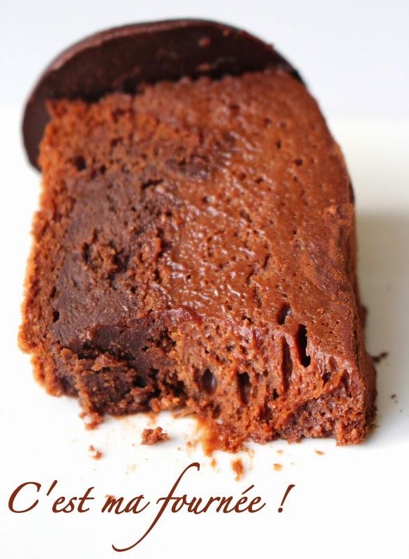 le gâteau d'anniversaire double chocolat de mercotte : une seule