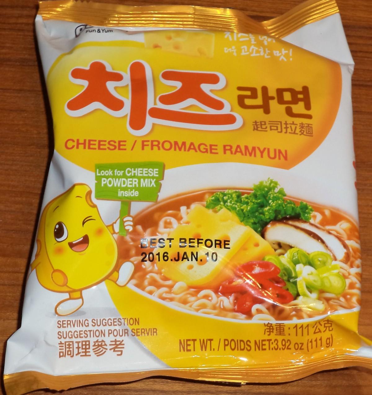 korean cheese ramen