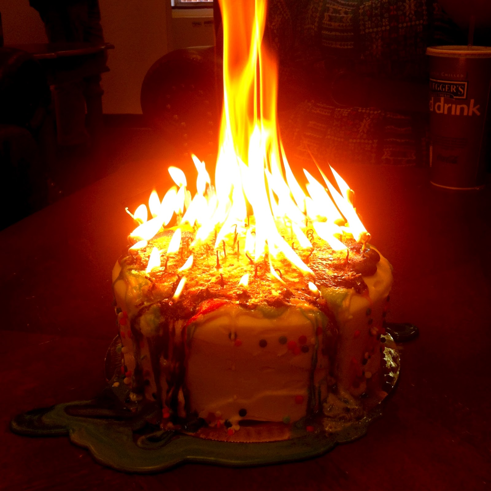 Not Recommended Putting Almost 80 Candles On A Single Cake