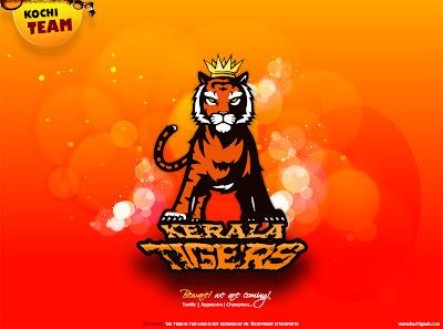 Kerala Tigers IPL Logo