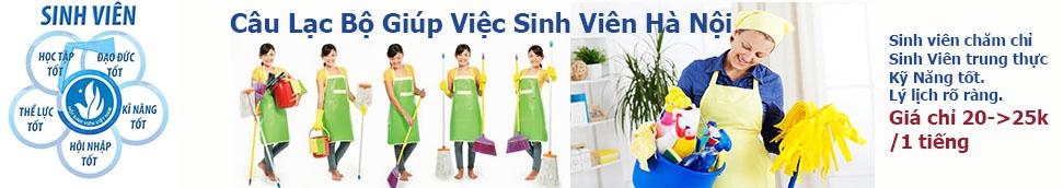 Sinh viên giúp việc theo giờ tại Hà Nội