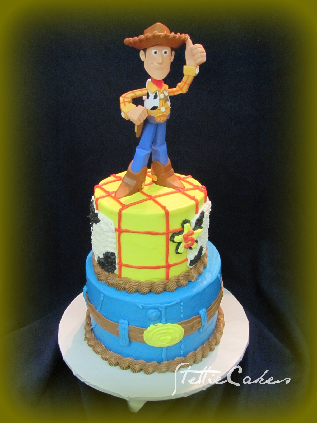 stettie cakes  toy story woody cake
