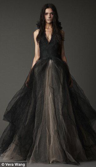 Vestidos boda color negro