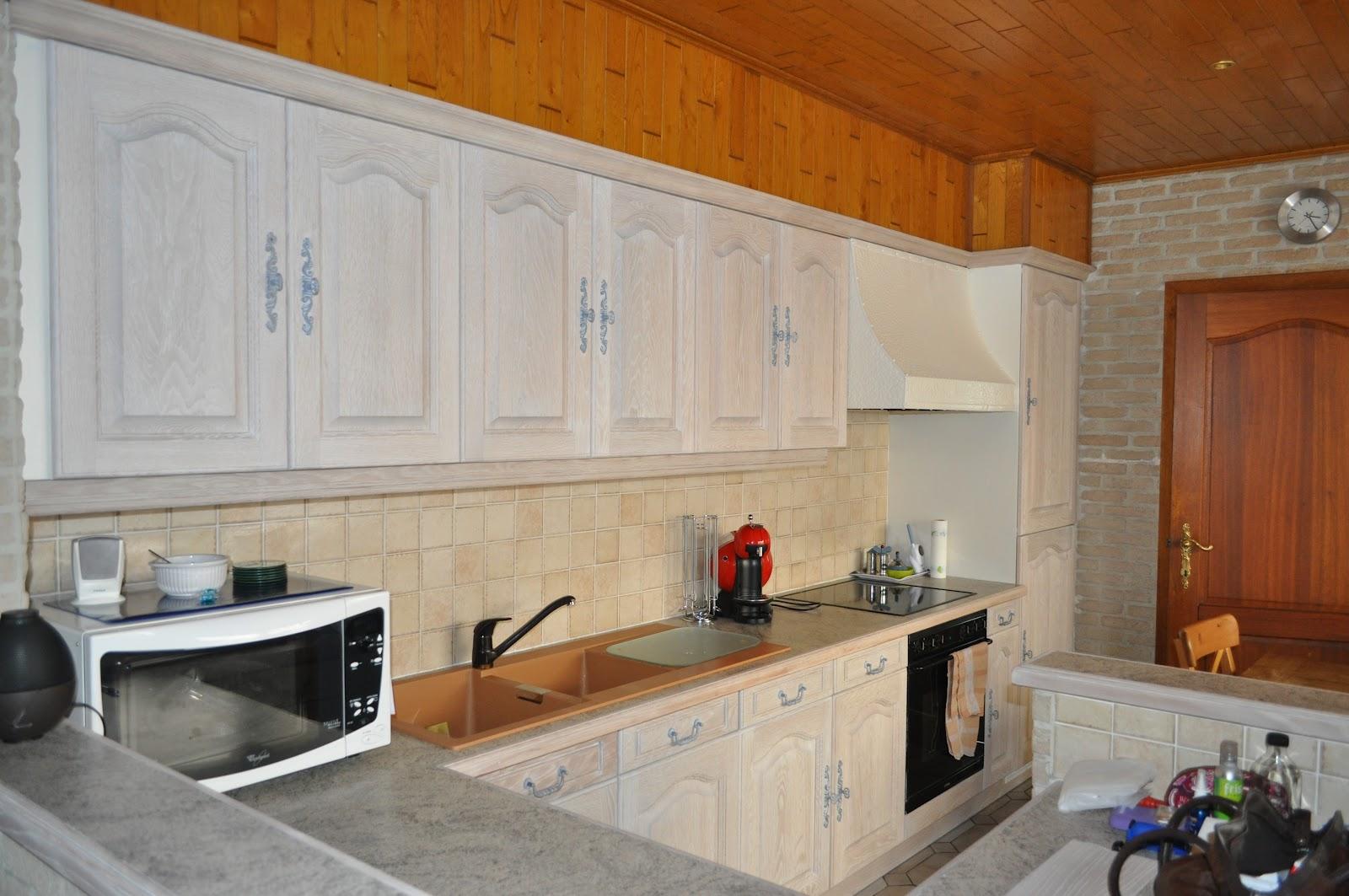 Eiken Keuken Zandstralen : eiken keuken Roeselare en Izegem Renovatie van eiken keukens