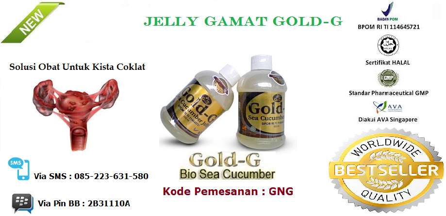 Produk Obat Herbal Jelly Gamat Gold G