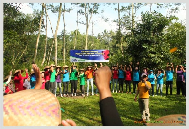 Outbound Training Jogja, Outbound di Jogja, Gathering Kantor