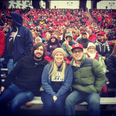 Cincinnati Bearcat fans
