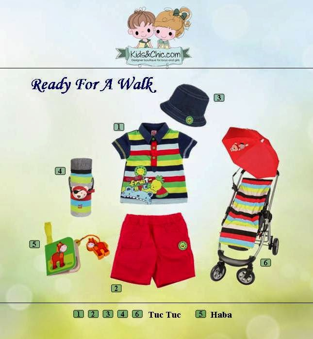 Summer look for boys from Tuc Tuc and Haba