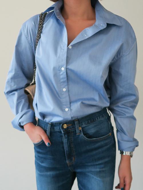 Textured Button-Down Shirt