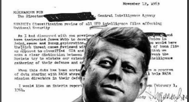 Ο Κένεντι είχε δώσει εντολή στην CIA να απελευθερώσει αρχεία UFO δέκα ημέρες πριν το θάνατό του [Βίντεο]