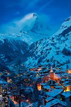 Visit Village Of Zermatt And Matterhorn In