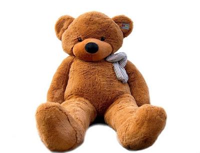 Boneka Teddy Bear Cokelat Imut