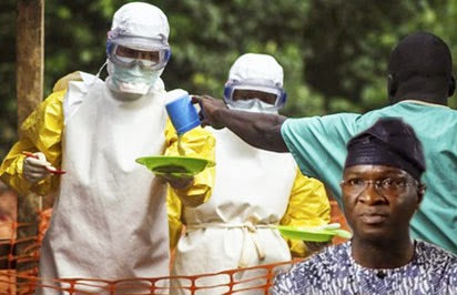 Lagos state governor Fashola and Ebola doctors