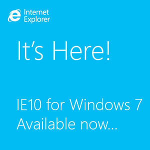 Internet Explorer 10 for Windows 7