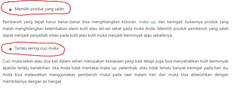 5 Kesalahan saat Mencuci Muka