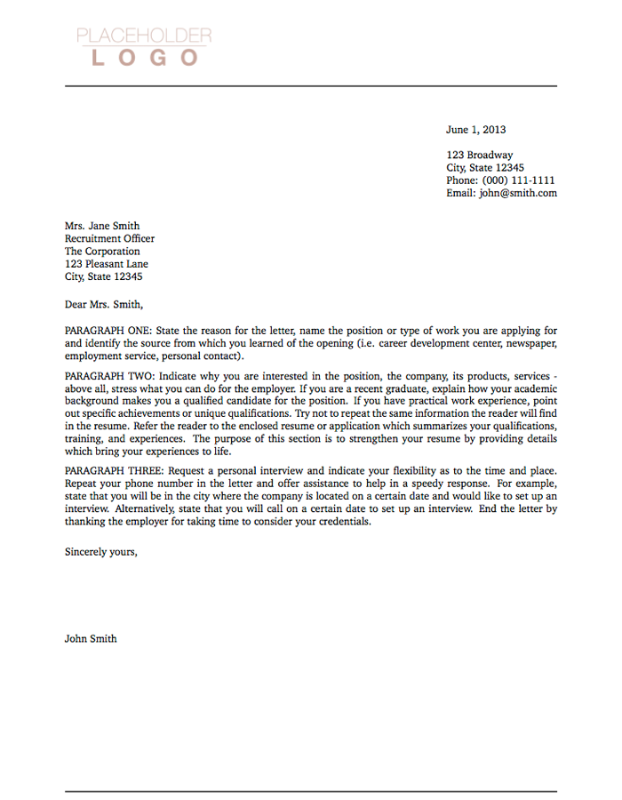 Cover Letter Sample For Teachers cover letter cover letter for