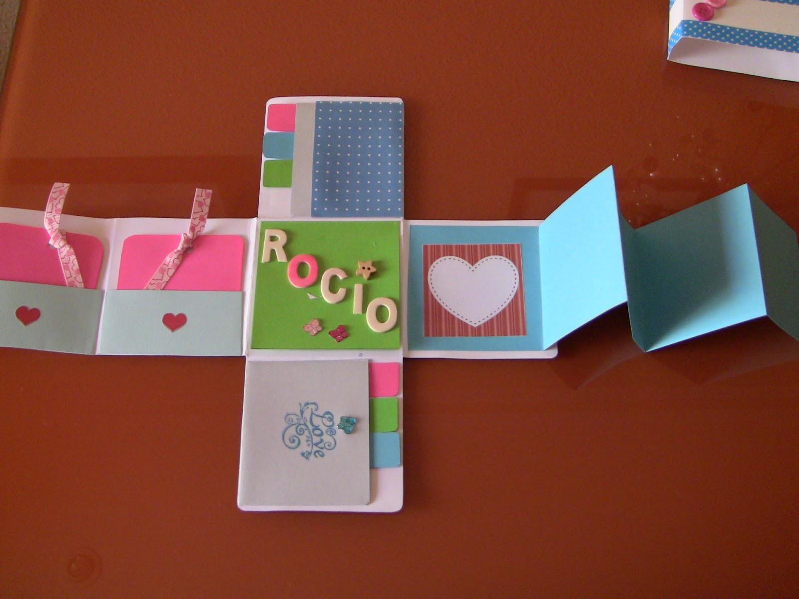 Love sweet love manualidades regalo mini album for Detalles de manualidades