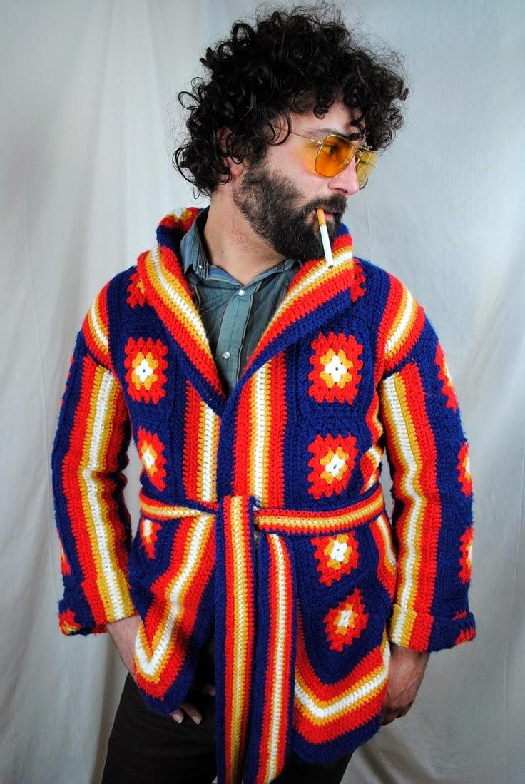 crochet a mans jacket
