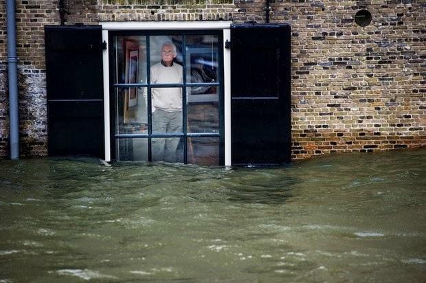 The Dutch floods