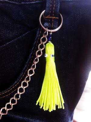 Nappa polipo su catena pantalone per bimbo