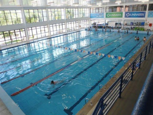 Francisswim esportes aqu ticos complexo esportivo univates for Piscina 25 metros
