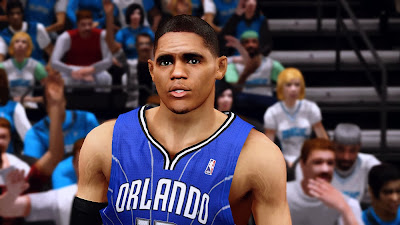 NBA 2K14 Tobias Harris Cyberface Mod