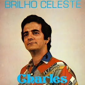 "Capa do LP ""Brilho Celeste"" do cantor Charles Meira"