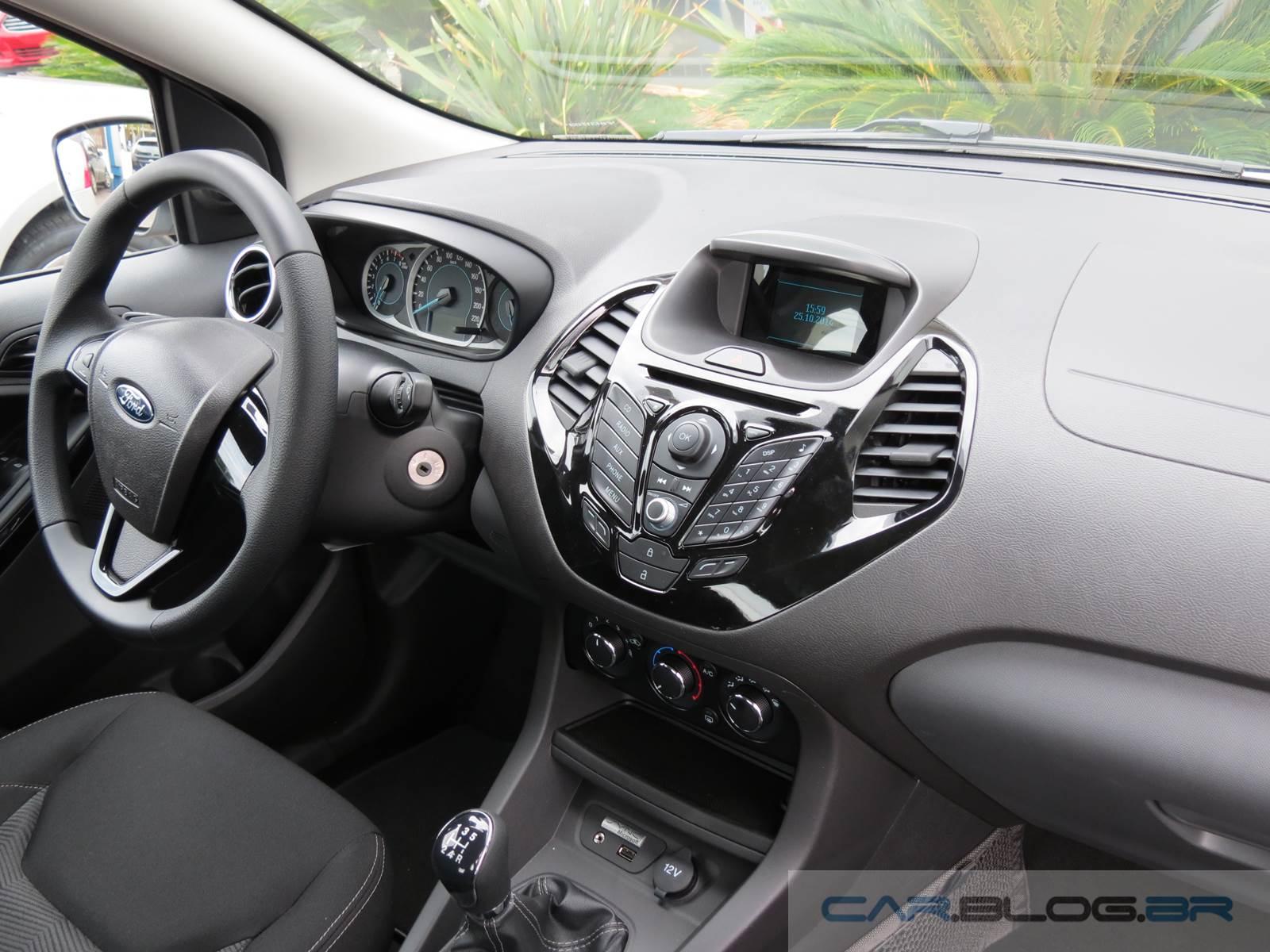 novo ford ka modelo versão preço itens de série novo ka hatch se 1