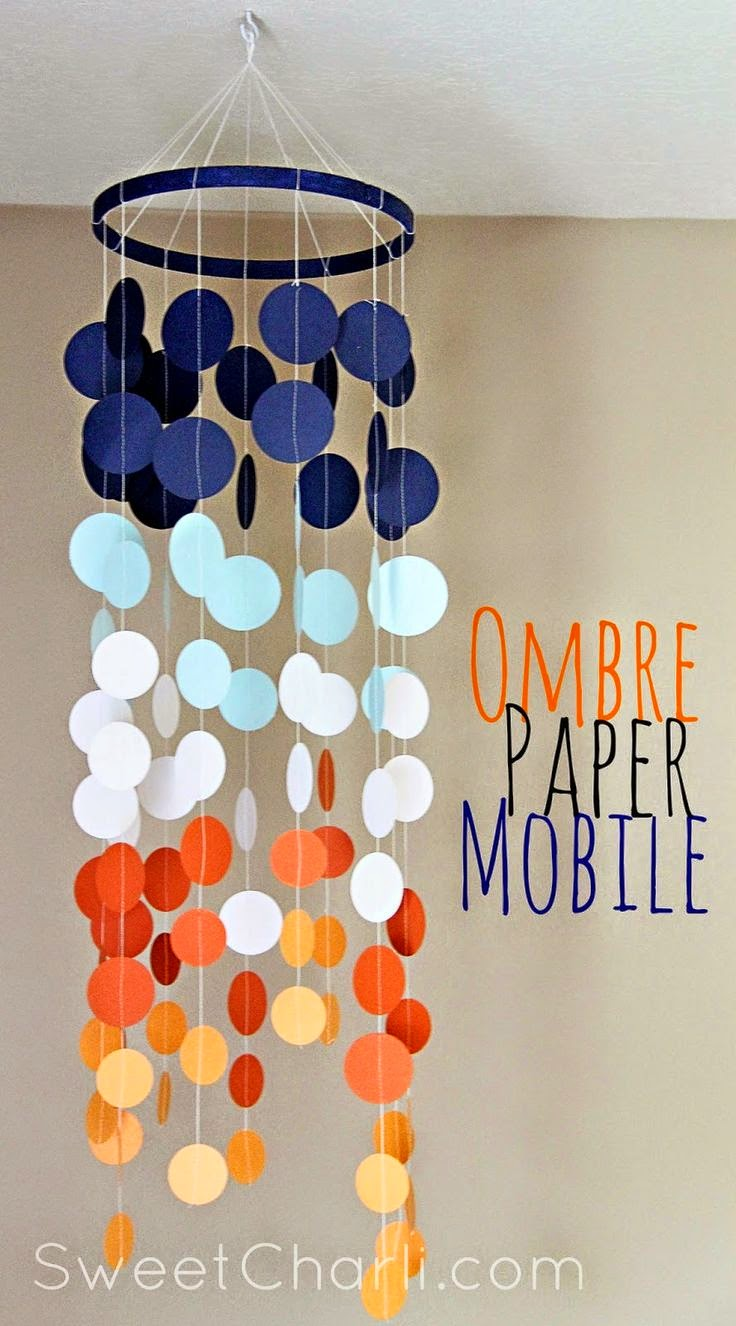 http://www.sweetcharli.com/2014/04/ombre-paper-mobile-with-cricut-explore.html