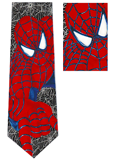 Spiderman  Necktie
