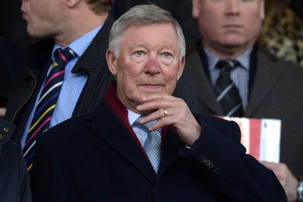 LEGEND: Sir Alex Ferguson