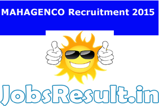 MAHAGENCO Recruitment 2015