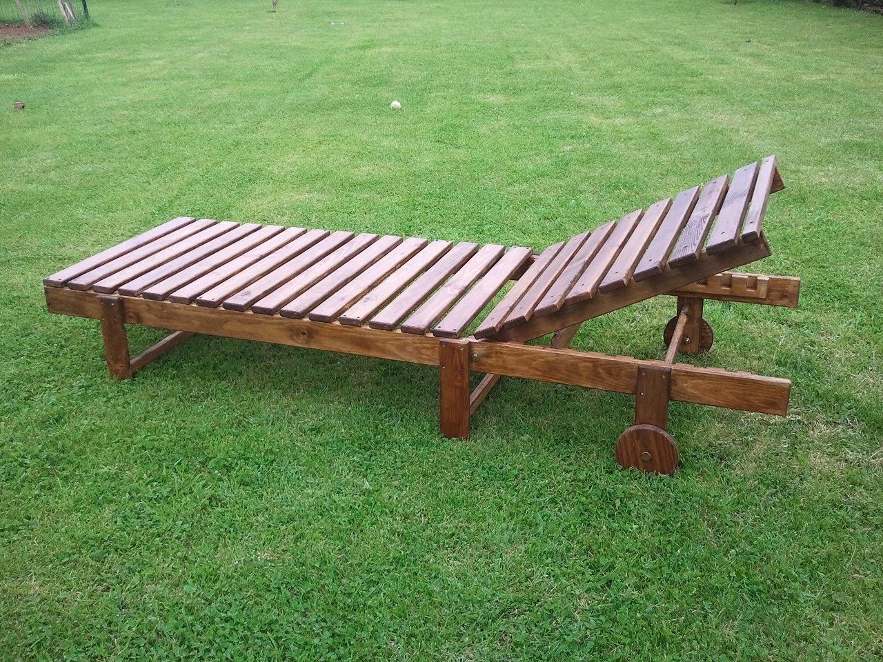 robusta hamaca de madera de mltiples posiciones con ruedas tratada con barniz para exteriores precio 85 sin tratamiento para exterior - Hamacas De Madera